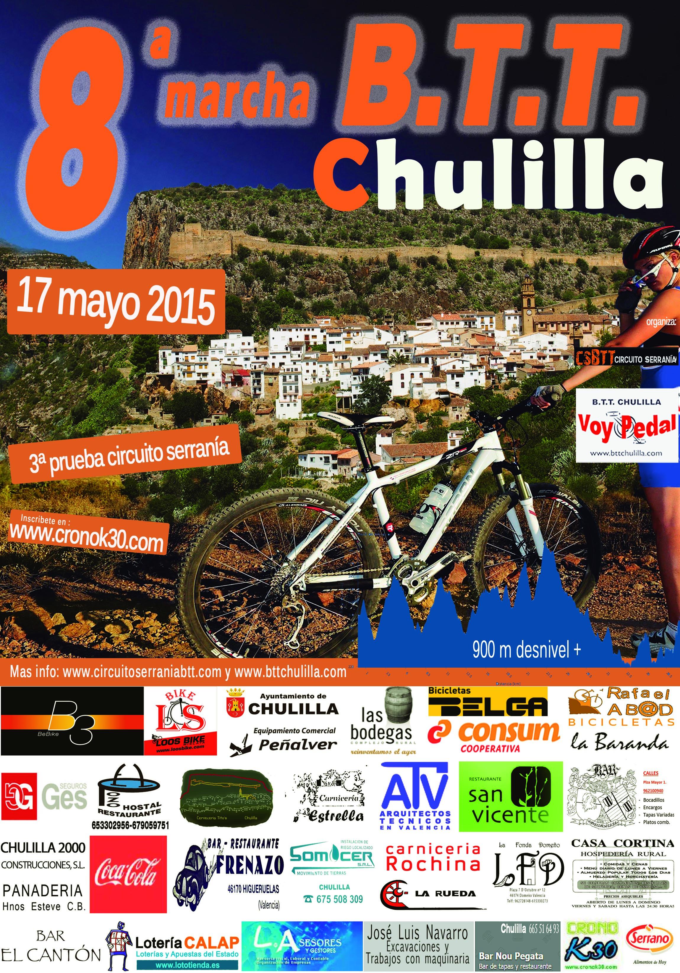 8ª Marcha BTT Chulilla